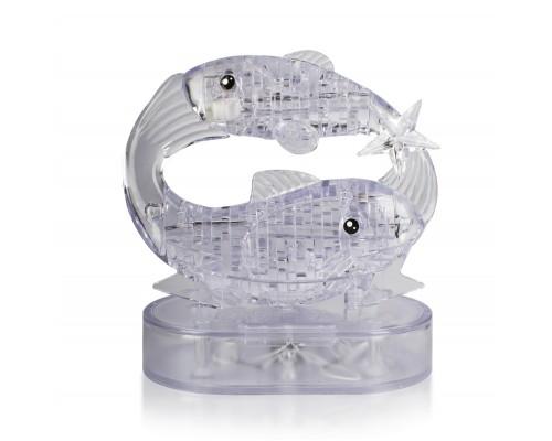 Рыбы со светом Crystal Puzzle 3d