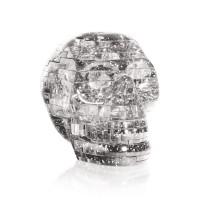 Череп со светом Crystal Puzzle 3d