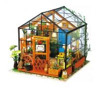 DIY house - Цветочный домик (Зимний сад)
