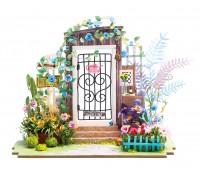 DIY House - Калитка в цветах