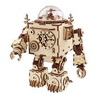 Музыкальный робот Орфей с механическим заводом