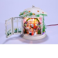 DIY Mini House Свадебный фонарик (с фигурками)
