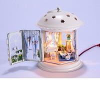 "DIY Mini House Фонарик ""Музыкальная беседка"""