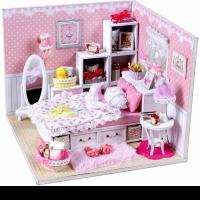 DIY Mini House Комната маленькой принцессы