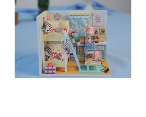 DIY Mini House Комната девчонок