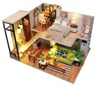 DIY Mini House Скандинавский Лофт