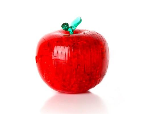 Яблоко со светом Crystal Puzzle 3d