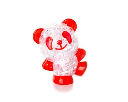 Панда со светом Crystal Puzzle 3d