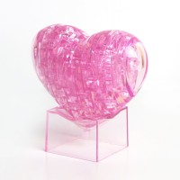Сердце со светом Crystal Puzzle 3d