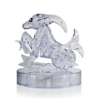Козерог со светом Crystal Puzzle 3d