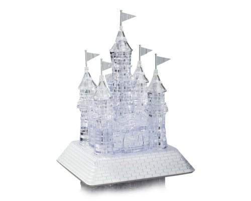 Замок со светом и музыкой Crystal Puzzle 3d