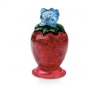 Кристалл Puzzle 3D - Hello Kitty c клубникой со светои Crystal Puzzle 3d
