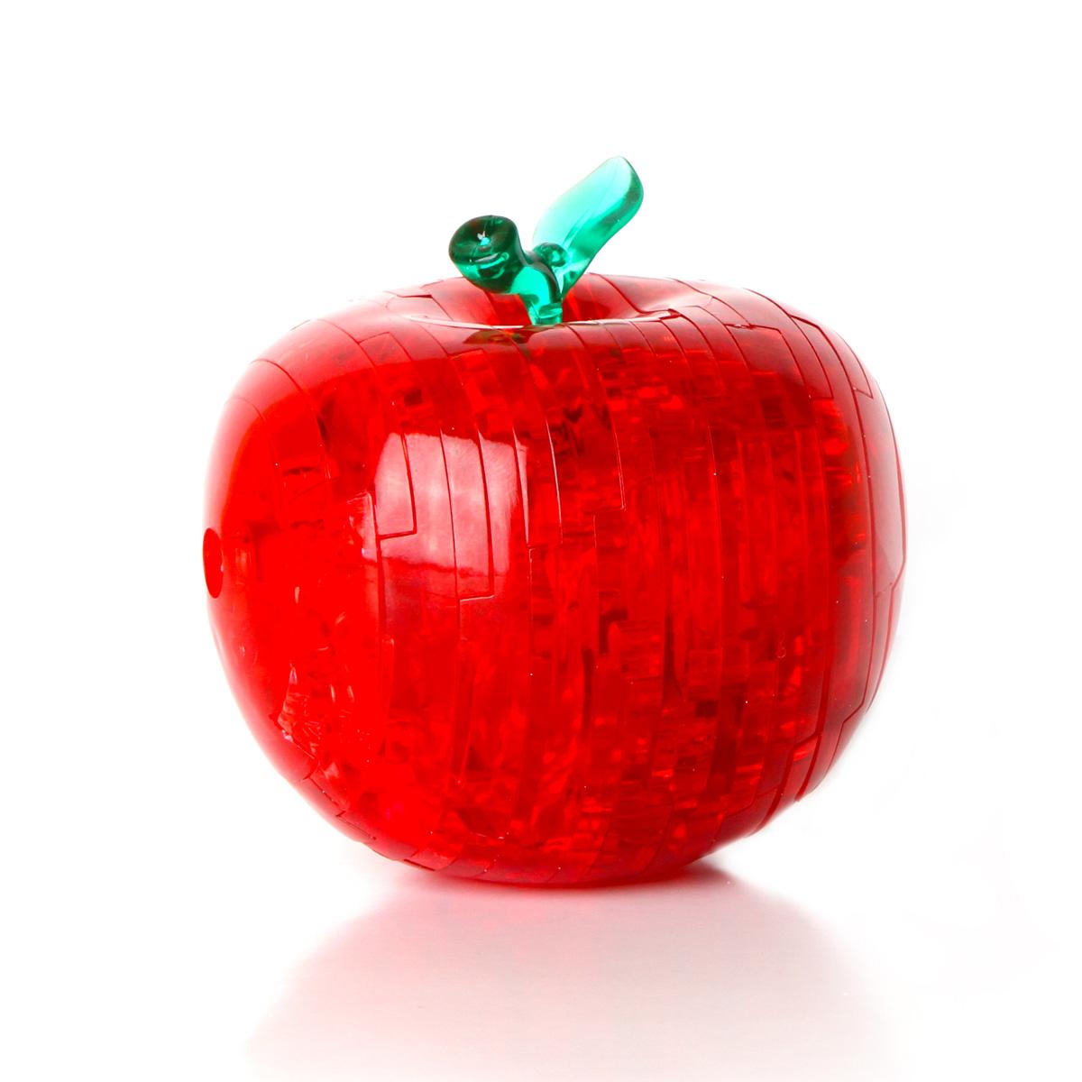 Кристалл пазл яблоко со светом